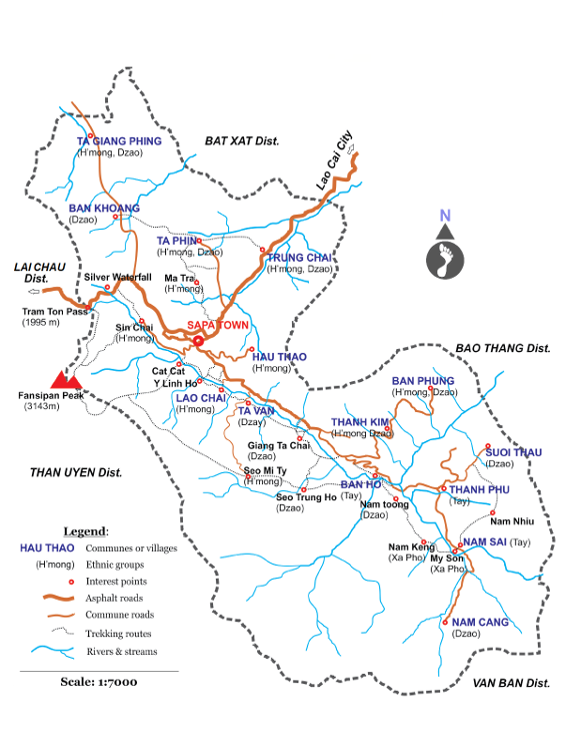 Sapa Map